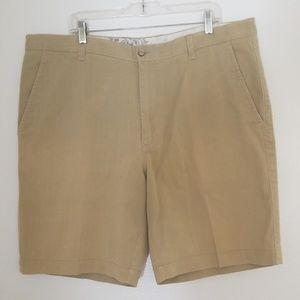 Tommy Bahama Men's Khaki Cotton/Silk Shorts Sz.42